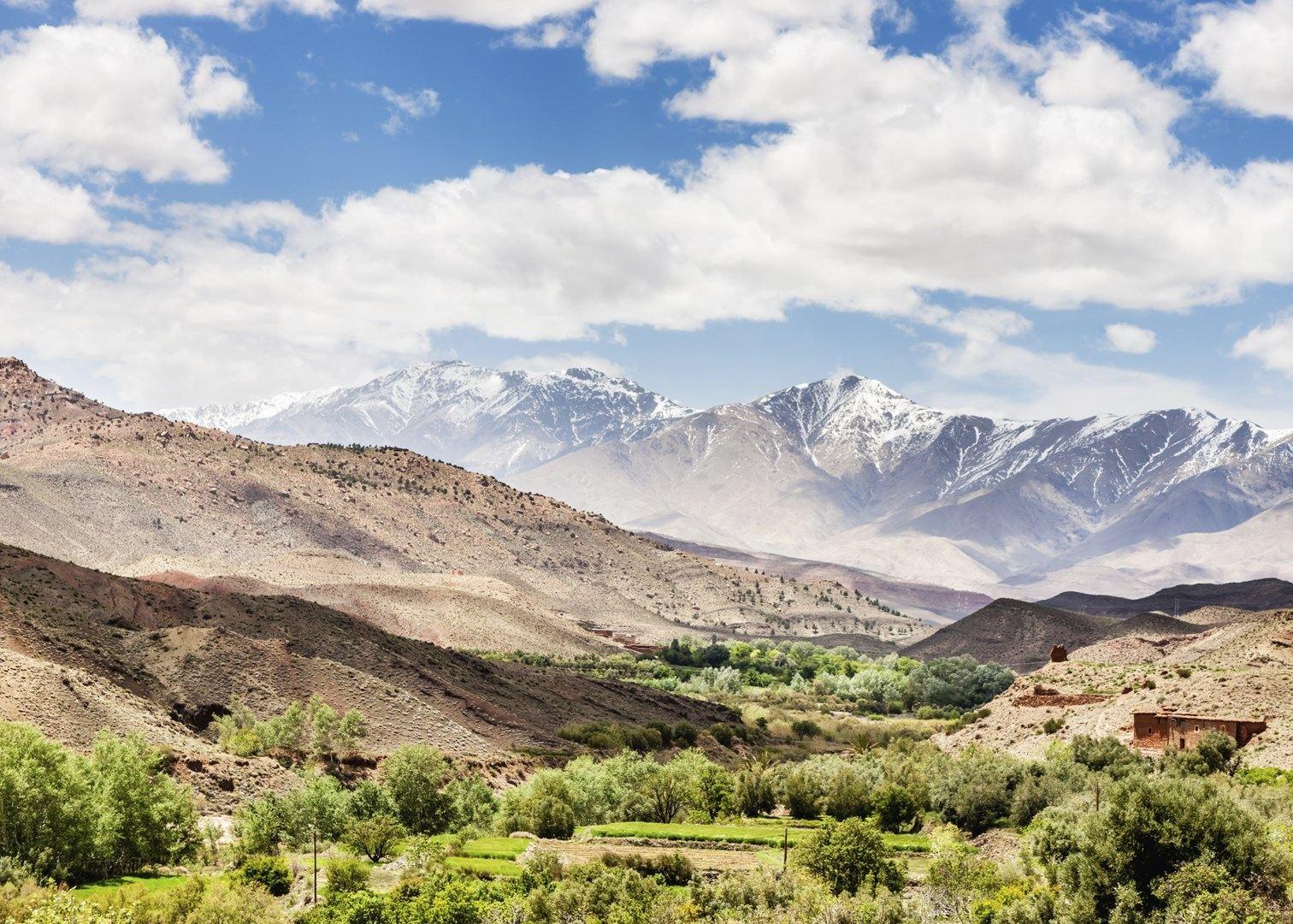 Mountains & Desert