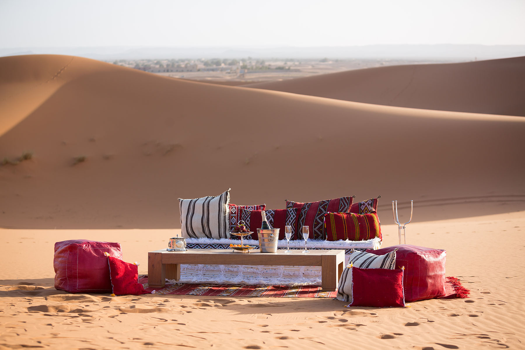 Week in the red dunes of Merzouga