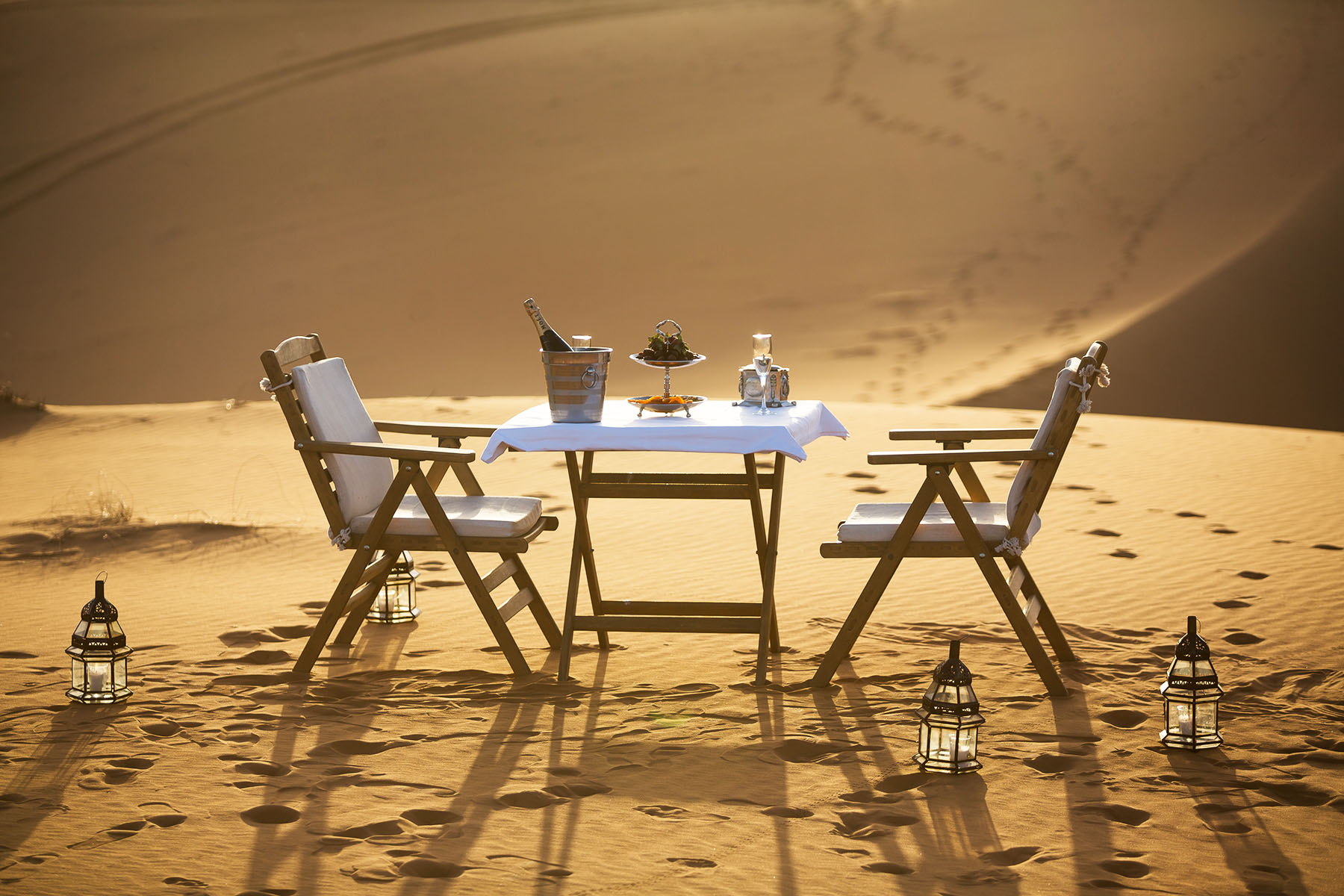 Long week end in the red dunes