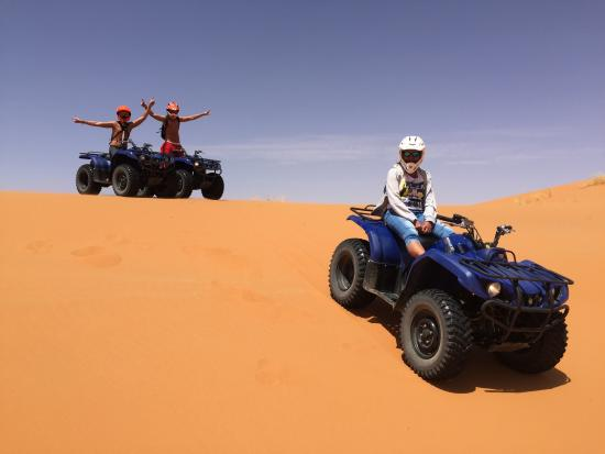 Quad biking ATV